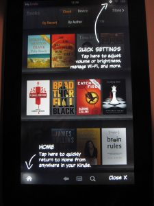 Kindle Fire Welcome 3