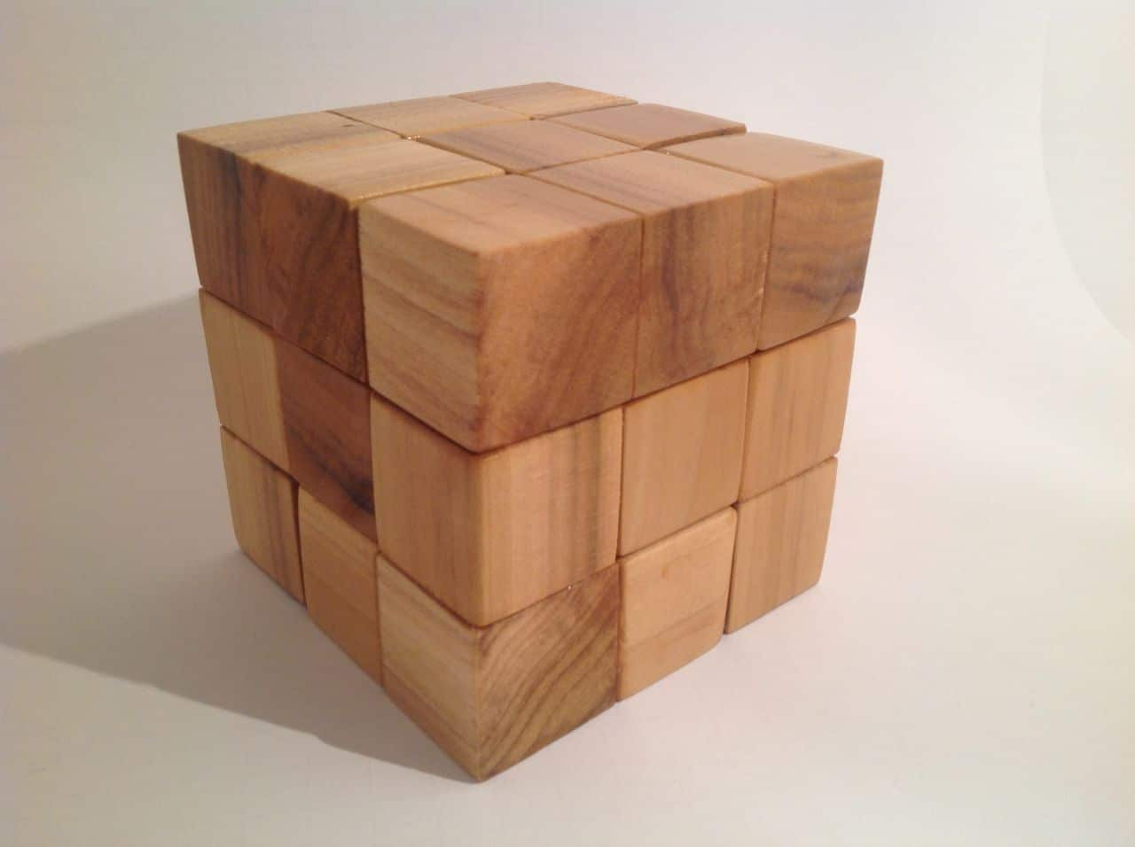 Woodguide: Mystery cube in a cube puzzle woodworking project