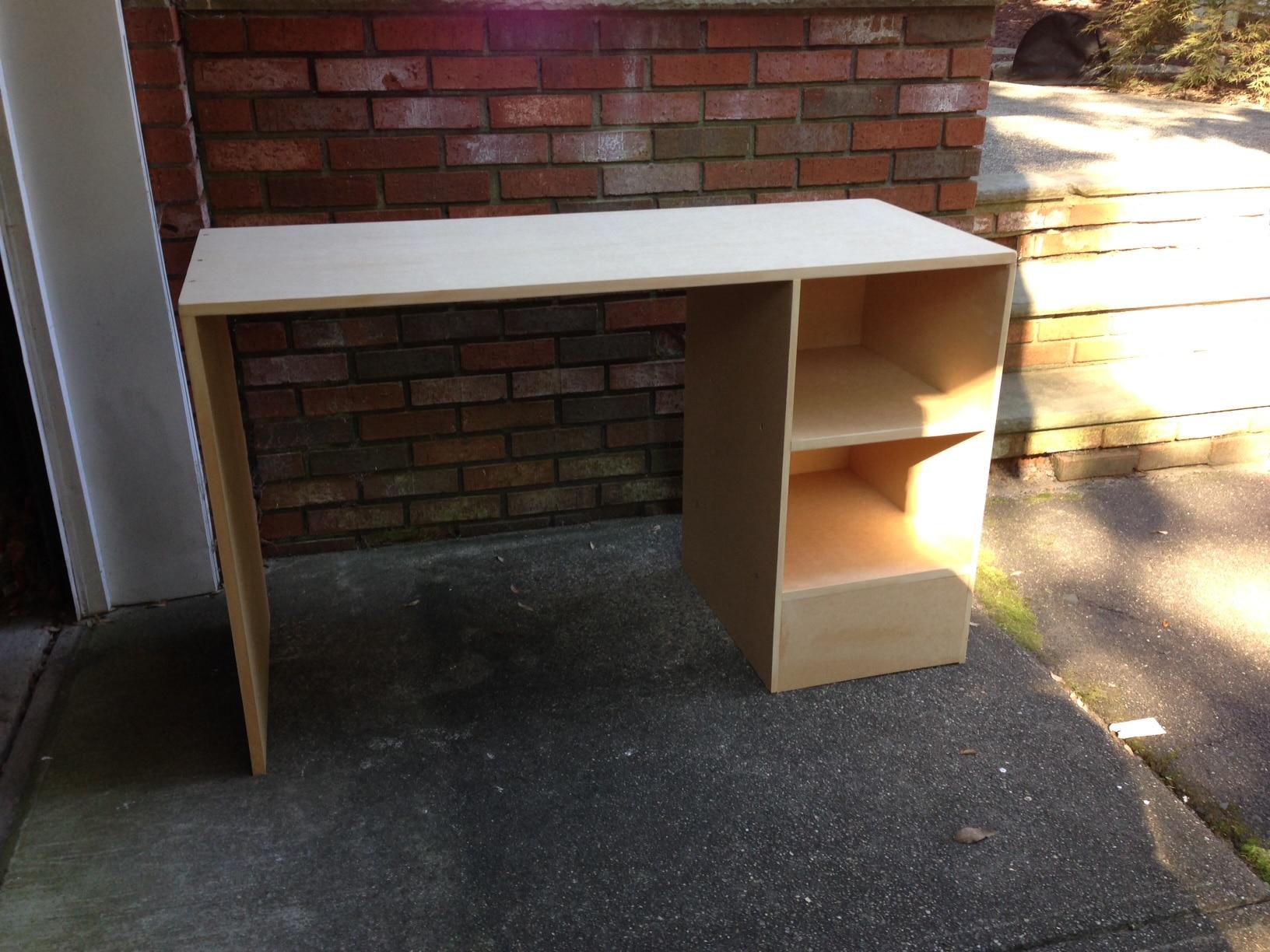 DIY MDF Desk