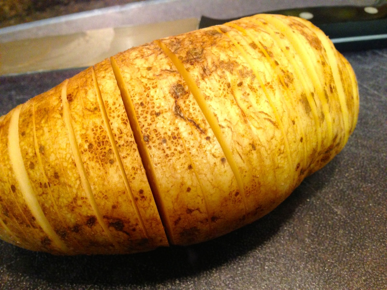 Hasselback Potatoes Pictures to pin on Pinterest