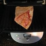 leftover pizza panini