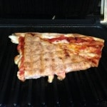 leftover pizza reheat panini press