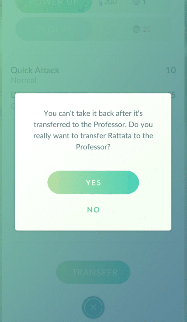Pokemon Go Transfer