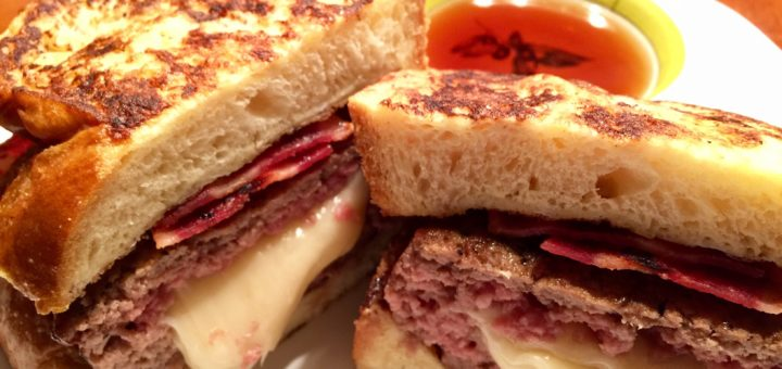 French Toast Burger
