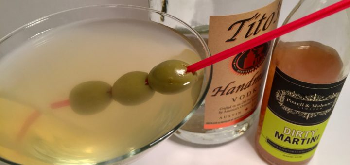 Dirty Vodka Martini Recipe