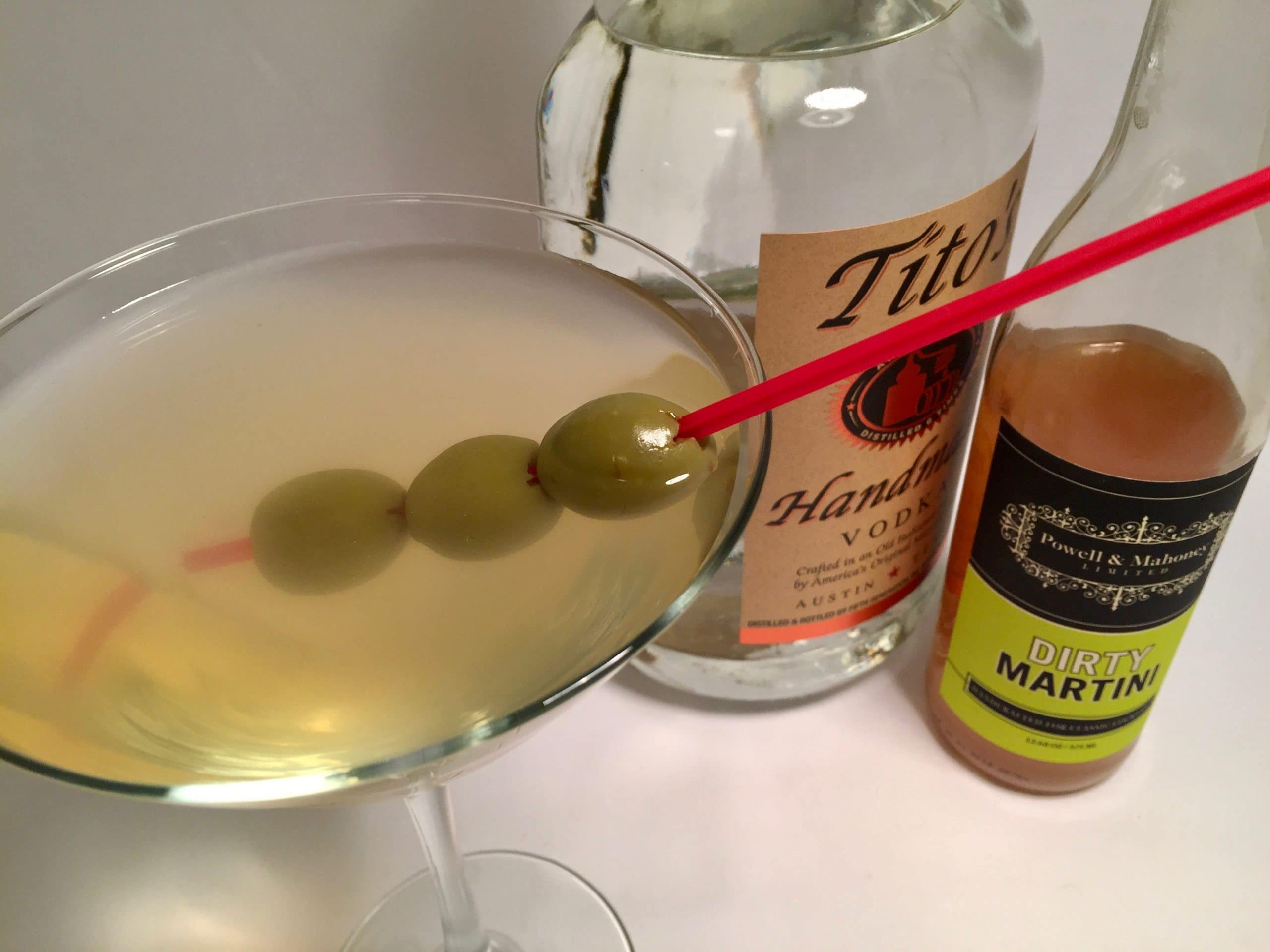 vodka martini dirty