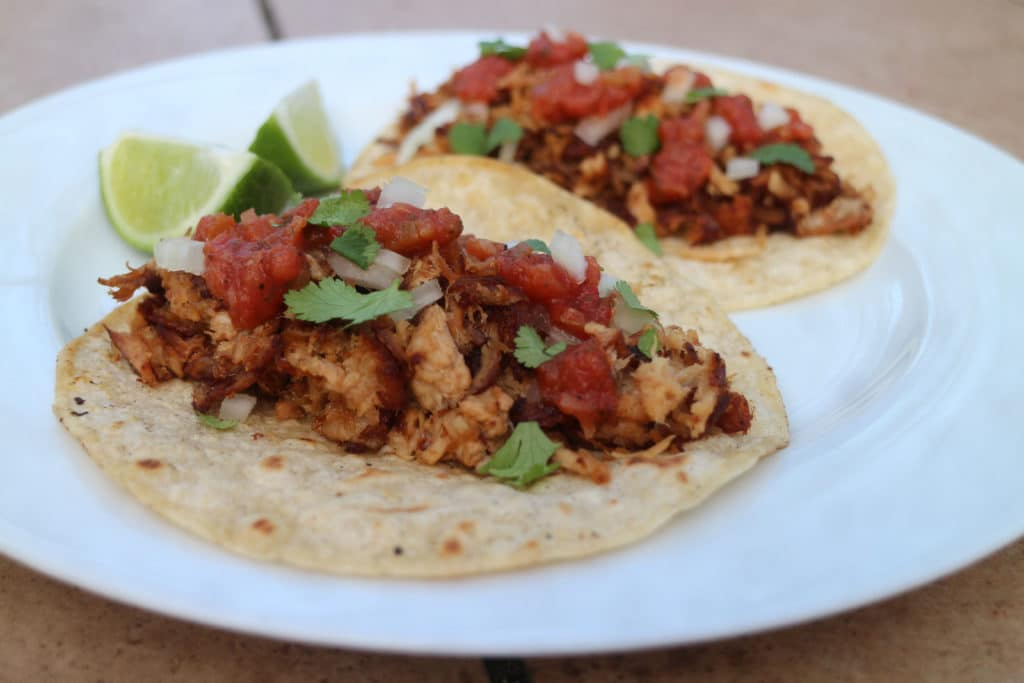 pulled pork tacos - Leftover Pulled Pork Recipes