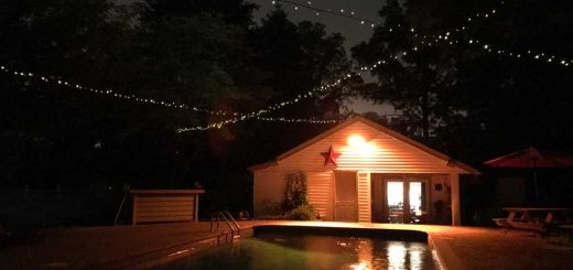 Solar Powered Outdoor String Lights
