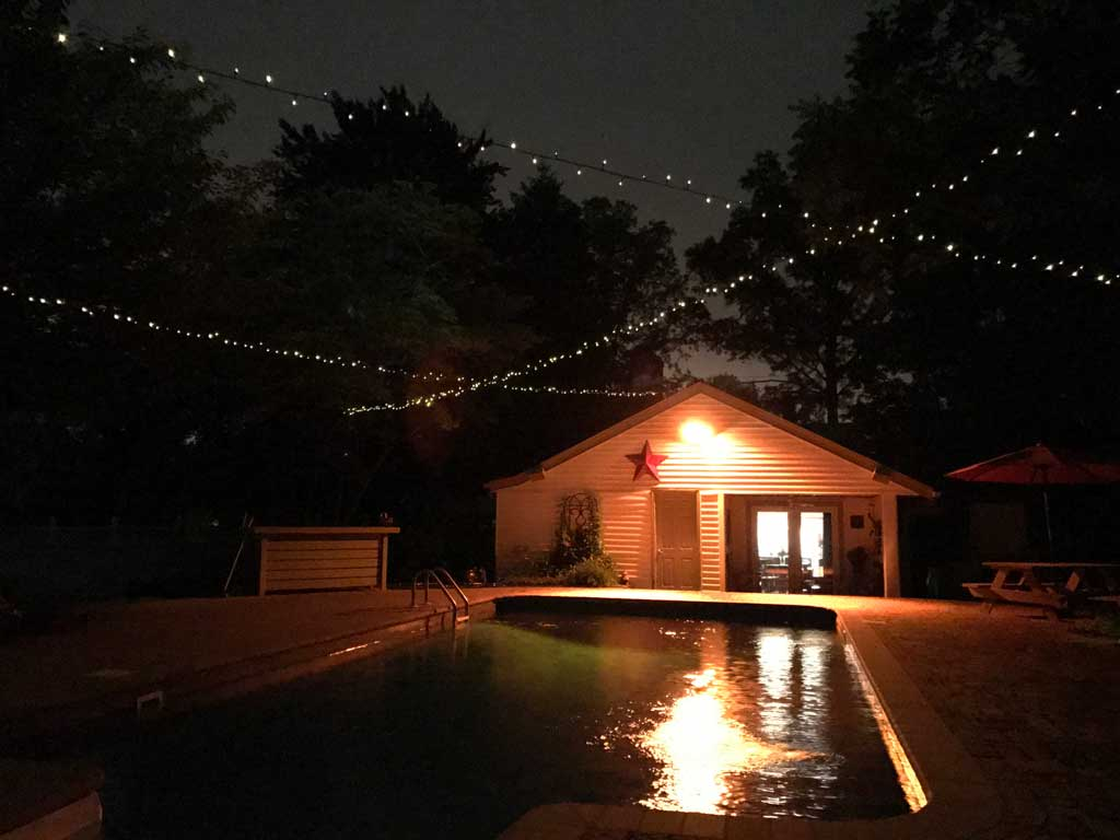 Solar Powered Outdoor String Lights Goodstuffathome